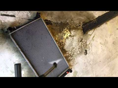 2001 ford  150 radiator cleaning