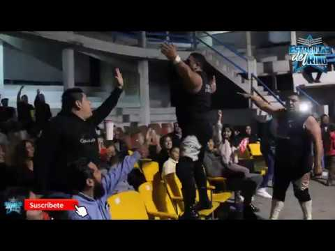Drako y Corsario Negro Jr vs Mike Segura y Freelance en Mexa Wrestling