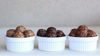 Energy Date Balls – 3 Easy Ways
