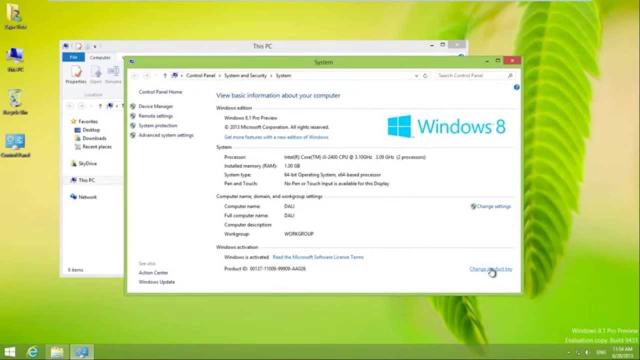 Installing And Activating Windows 8.1 Preview