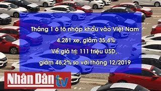 Giá ô tô nhập khẩu từ Indonesia thấp kỷ lục