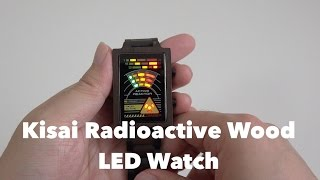 Tokyoflash Kisai Radioactive Wood LED Watch