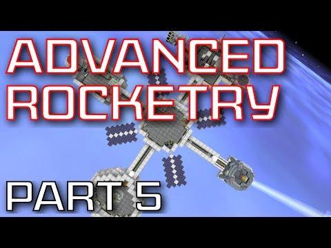 Advanced Rocketry Mod Spotlight - Part 5: Warp, Orbit Laser Drill, And Unmanned Vehicles