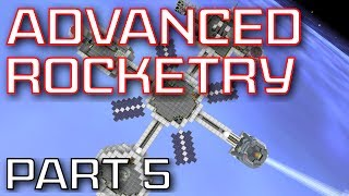 Advanced Rocketry Mod Spotlight - Part 5: Warp, Orbit Laser Drill, and Unmanned Vehicles