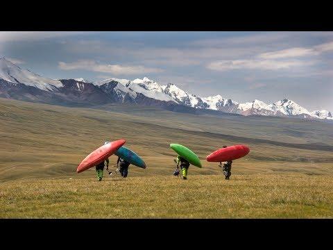 Whitewater kayaking in Kyrgyzstan