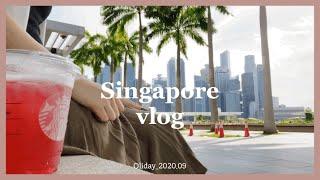 (ENG) 싱가포르 일상   나홀로 마리나베이샌즈 아이…