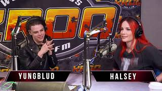Halsey and YUNGBLUD Breakdown New Track '11 Minutes' Featuring Travis Barker on Kevin & Bean
