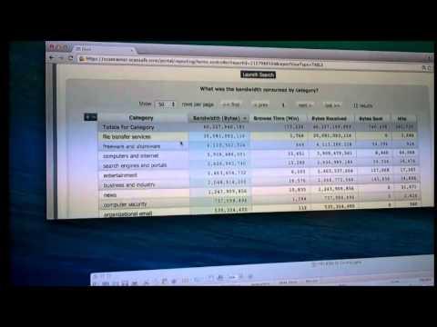 Story Tweedie Yates presenta el demo de Cisco Cloud Web Security