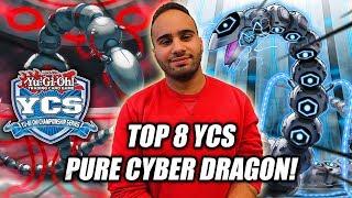 Yu-Gi-Oh! THE BEST! TOP 8 YCS NIAGARA PURE CYBER DRAGON DECK PROFILE 2019! Ft. Yacine!