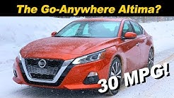 2019 Nissan Altima AWD | Winter Drive
