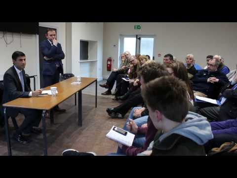 Agriculture Minister George Eustice answers farmers' questions