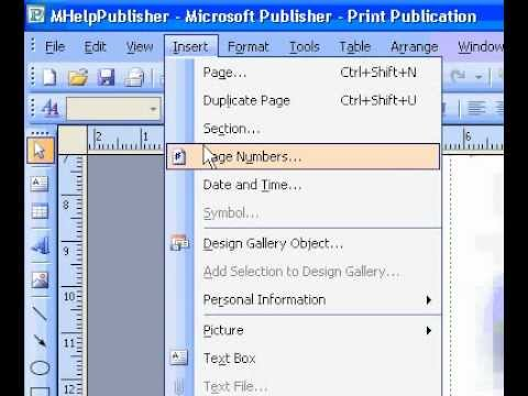 Microsoft Office Publisher 2003 Add an animated picture to a Web ...