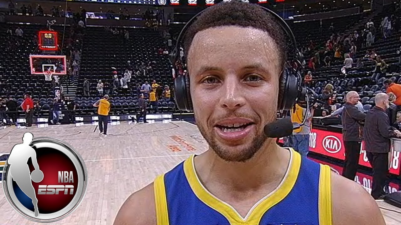 He had 'juice and fire' in him - Steph Curry on Jonas Jerekbo's game-winner | After The Buzzer