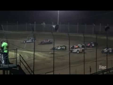 Moler Raceway Park | 10.7.16 | Matts Graphics UMP Modifieds | Heat 3