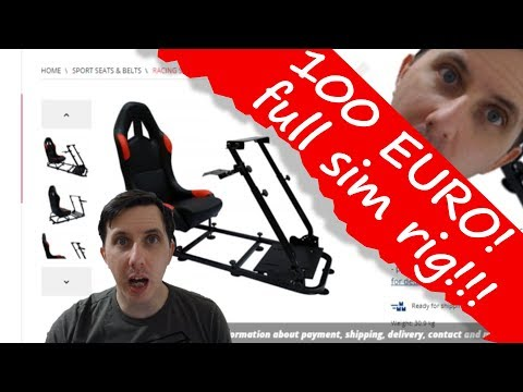 Super Cheap Sub 150 Euro Sim Rig With Seat, Is It Any Good?