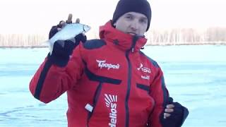 Велика плотва на безмотылку Перший лід 2017