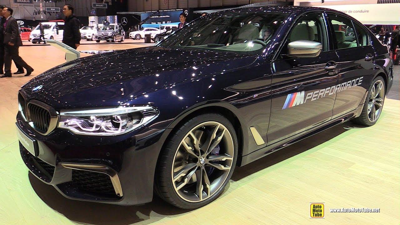 2017 Bmw M550i Xdrive Exterior And Interior Walkaround Geneva Motor Show