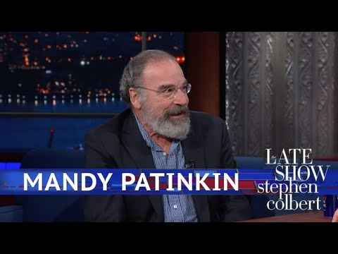 Mandy Patinkin, Amateur Model Railroader