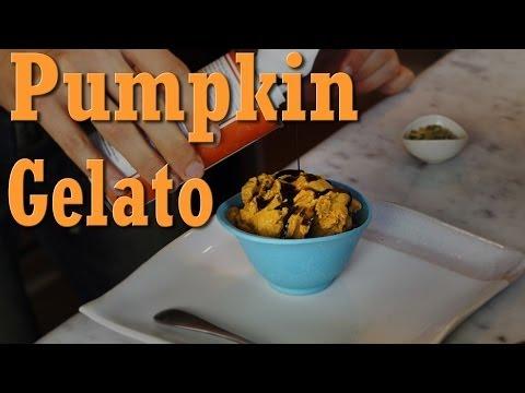 Pumpkin Gelato: Organic Vegan Dessert Recipe