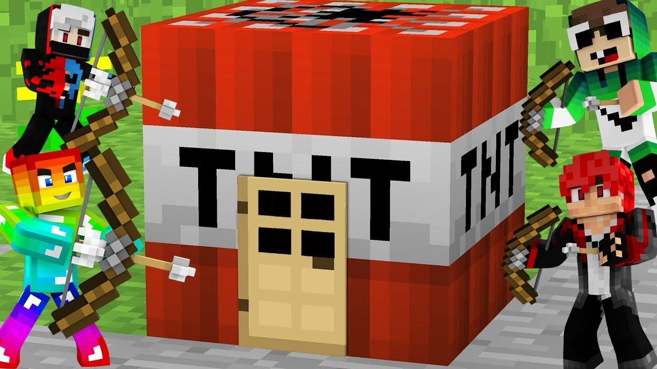 MINI GAME : CUỘC CHIẾN SINH TỒN TRONG TNT ** XẠ THỦ NOOB THỂ HIỆN PRO BẮN CUNG ??