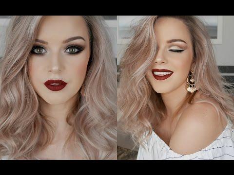 Modern Glam Makeup & Hair Tutorial || One Brand x The Balm
