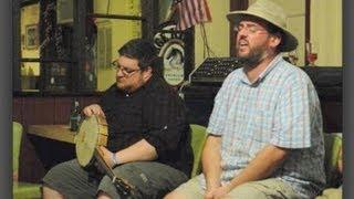 """CIAW 2012 #039. Session at McGrath's Liam Hart: """"Máire Ní Eidhin"""""""