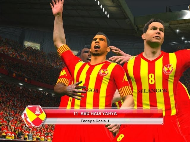 PES 2014 Malaysian and Singaporean League Travel Video