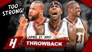 "The ""We Believe"" Warriors BIG 3 Full Game 3 Highlights vs Mavericks 2007 Playoffs - EPIC Night!"