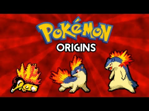Pokemon Origins | Cyndaquil, Quilava And Typhlosion