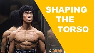 How to sculpt hyperrealistic Bruce Lee : Part 14 - Shaping Torso