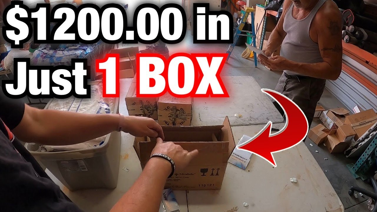 $1200.00 in EBAY sales in 1 BOX ! Found thousand of dollars in treasure !