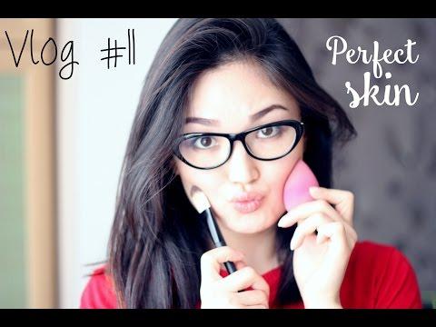 Vlog #11: Идеальная кожа как на картинке! | How to make skin perfect