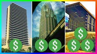 Video TOP 10 BEST Properties To Own & Buy In GTA Online! download MP3, 3GP, MP4, WEBM, AVI, FLV Agustus 2018