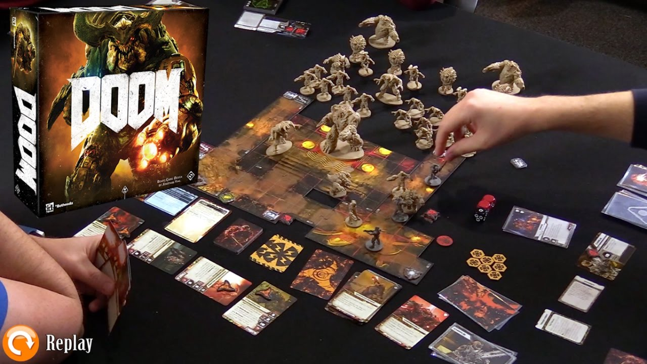 doom the board game gameplay discussion youtube
