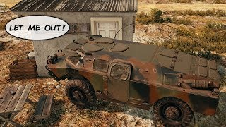 WE TRAPPED HIM WITH THE NEW PUBG BRDM-2 TANK! (Playerunknown's Battlegrounds)