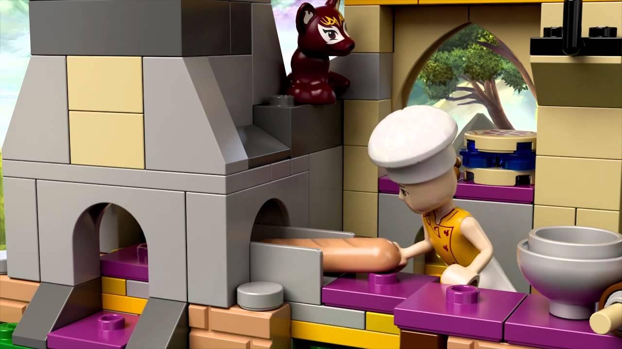 Lego Elves 41074 Лего Эльфы Волшебная пекарня Азари - YouTube