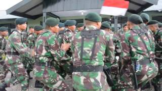 Ton tangkas Kodam XVII/Cenderawasih tahun 2017 Yonif 753 Raider khusus/Arga Vira Tama