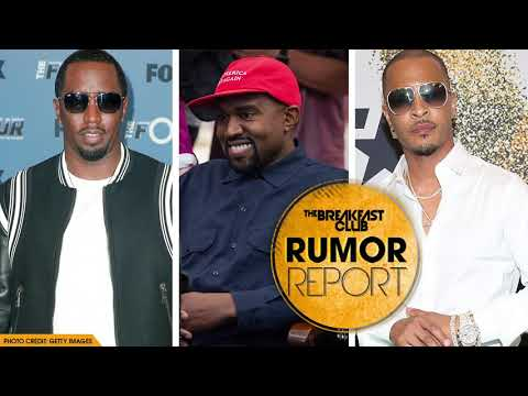 Diddy and T.I. Fed up with Kayne West After Trump Visit