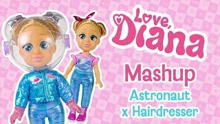 Love Diana Mashup Dolls – Astronaut x Hairdresser
