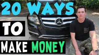 20 Ways Teenage Entrepreneurs Can Make Money