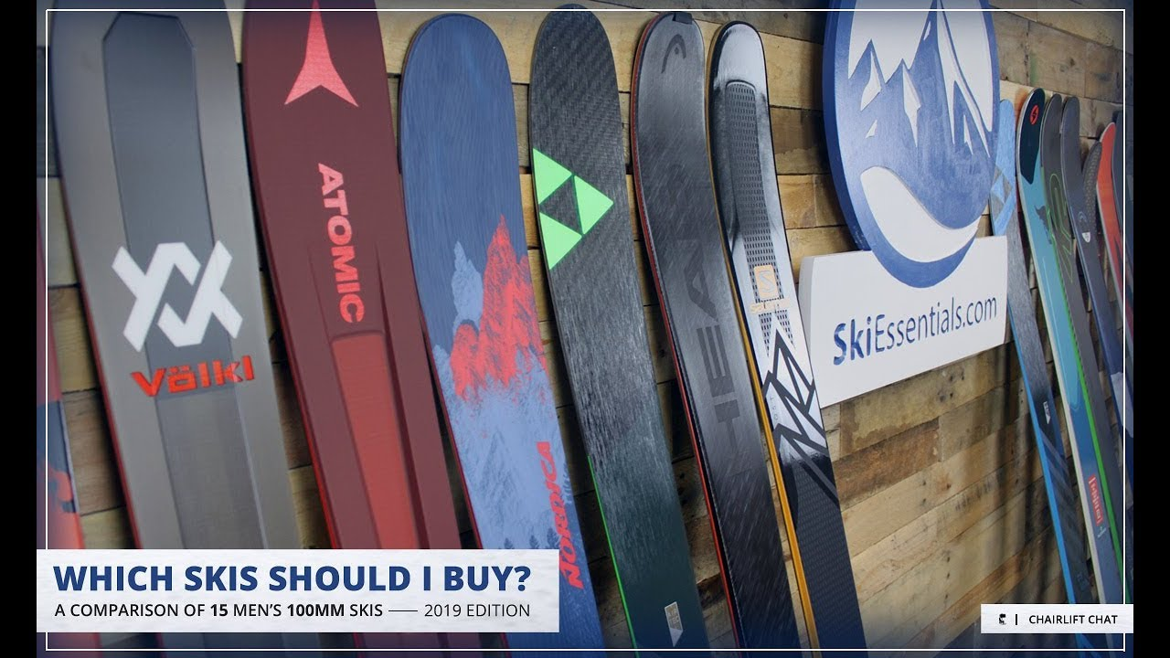 2019 Men's 100 mm All-Mountain Ski Comparison