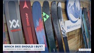 2019 Men's 100 mm All-Mountain Ski Comparison