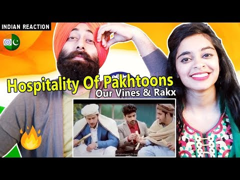 Indian Reaction on Hospitality Of Pakhtoons | Our Vines & Rakx Prouduction