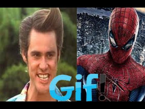 Ace Ventura vs Spider-Man - Sunday GIF