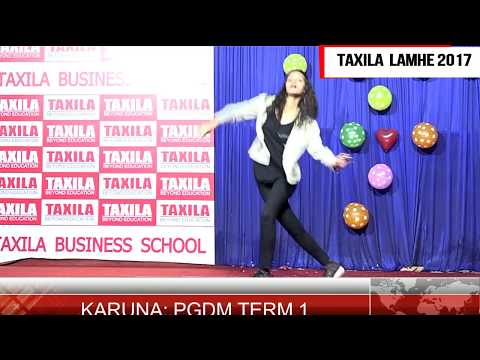 LAMHE 2017,  KARISHMA, THE VIBRANT PERFORMANCE OF THE DAY: TAXILA BUSINESS SCHOOL
