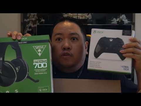 ee560020915 Unboxing the Turtle Beach Stealth 700 and the Xbox One Patrol Tech  Controller