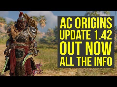 Assassin's Creed Origins Update 1.42 OUT NOW - Fixes Famous Bug, Boss Changes & More! (AC Origins)