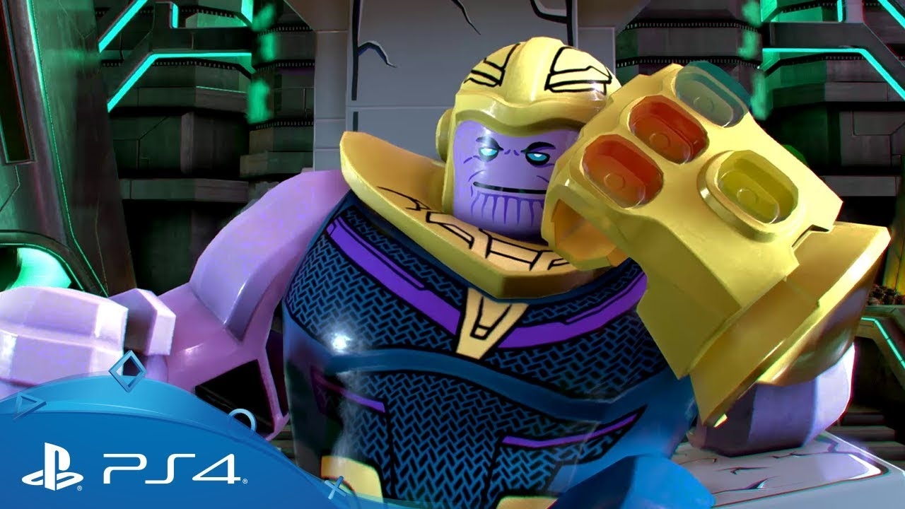 Lego Marvel Super Heroes 2 Infinity Wars Trailer Ps4 Youtube
