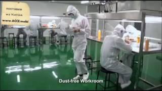 Как делают дисплеи для iPhone на фабрике Китая (Alles Asia Co.,Ltd)