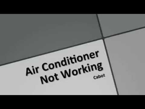 air conditioner not working cabot arkansas youtube. Black Bedroom Furniture Sets. Home Design Ideas